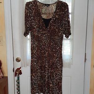 Style & Co. Woman Leopard Print Dress 3X